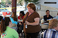 FEMA - 39089 - FEMA manager speaks with residents in Texas.jpg