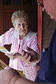 FEMA - 43683 - FEMA Community Relations Specialist visits a resident in New Jersey.jpg