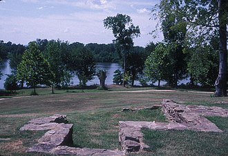 Fort Smith National Historic Site - Image: FIRST FORT SMITH