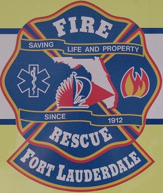 Fort Lauderdale Fire-Rescue Department - Image: FLFR Dept Logo
