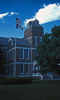 Fremont County Courthouse in Sidney