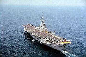 French aircraft carrier Foch (R99) - Foch aircraft carrier