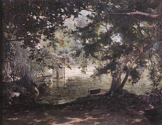 Fabián de la Rosa Filipino painter