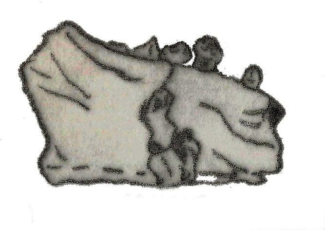Fabrosaurus australis mandible