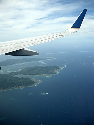 Faichuk - Faichuk islands aerial view.