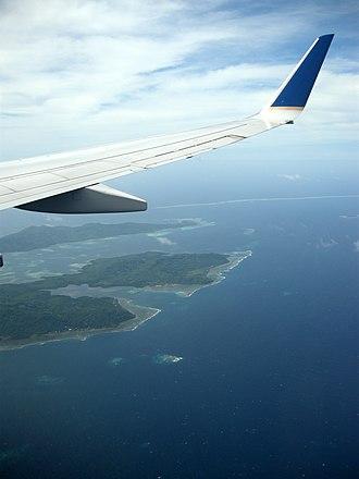 Faichuk - Faichuk islands aerial view.