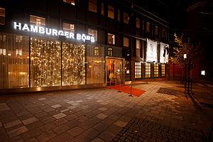 Hamburger Börs - Entré