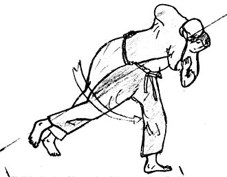Naban - Image: Fauchage hanche naban