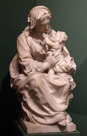 Lucas Faydherbe - Madonna with the infant Jesus, Rockoxhuis, Antwerp