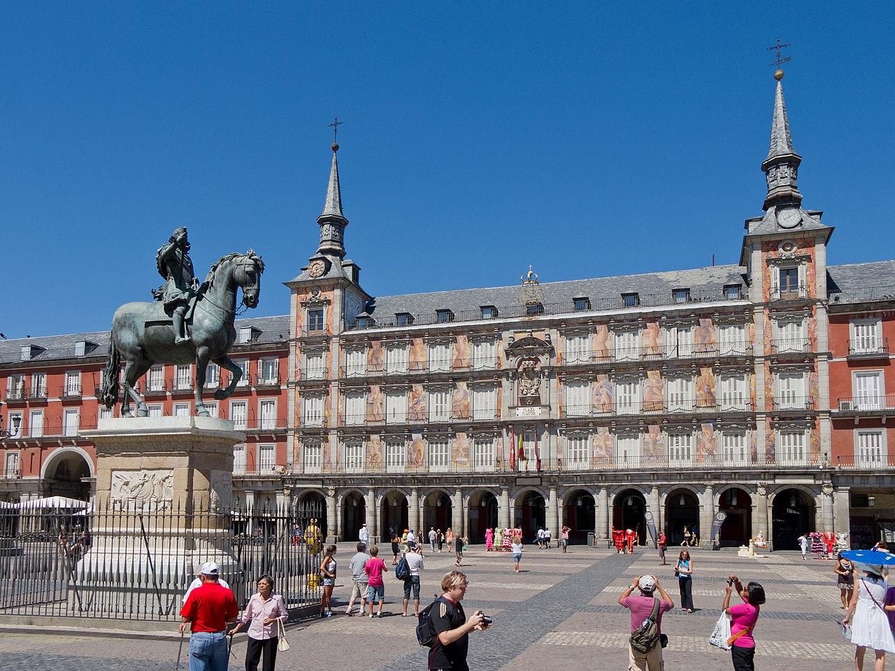 Madrid de los Austrias, Casa de la Panadería en la Plaza Mayor de Madrid