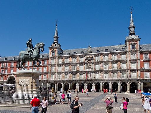 Felipe III - Casa de la Panadería - Plaza Mayor de Madrid - 01
