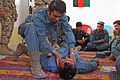 Female Engagement Team teaches Sangin district police combat lifesaving 011211-M-UK709-011.jpg