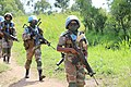 Female combat troops of South African Contingent in MONUSCO on robust foot and moblile patrols 65.jpg