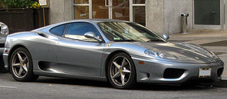 V8 flagship sports car, successor to the F355, produced by Italian automobile manufacturer Ferrari