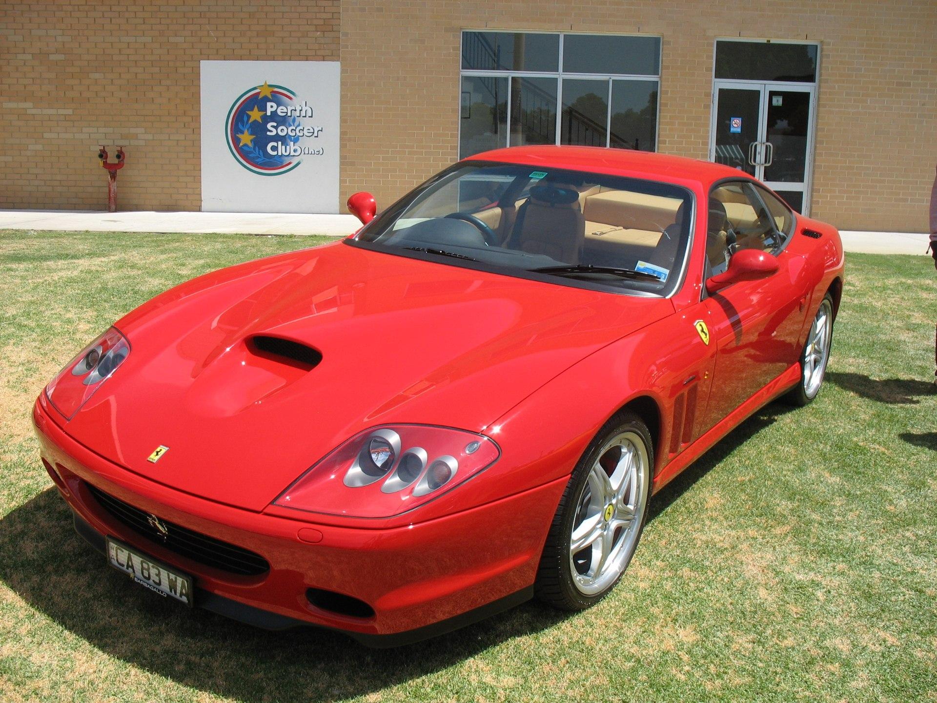 Mercedes Benz Coupe >> Ferrari 575M Maranello - Wikipedia