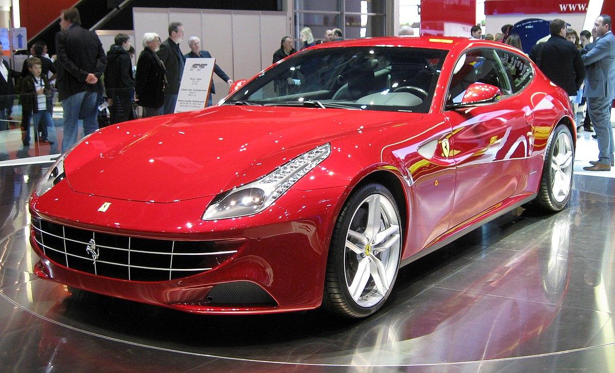 Px Ferrari Ff Autosalon Genf