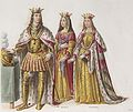 Filiberto II of Savoy and his two wives - Yolande of Savoy and Margarete of Austria.jpg