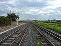 Fim do prolongamento da segunda linha do pátio da Estação Ferroviária de Itu - Variante Boa Vista-Guaianã km 203 - panoramio.jpg
