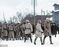 Finnish volunteers arrive in Tallinn, Estonia in December 1918 during Estonian War of Independence. (50248367157).jpg