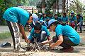 Fire-making - Survival Programme - Summer Camp - Nisana Foundation - Sibpur BE College Model High School - Howrah 2013-06-09 9691.JPG