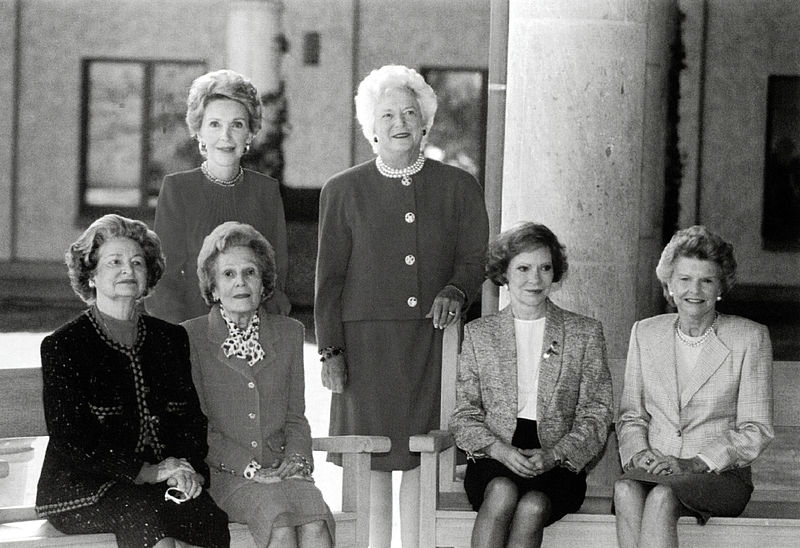 First Ladies at Ronald Reagan Presidential Library.jpg