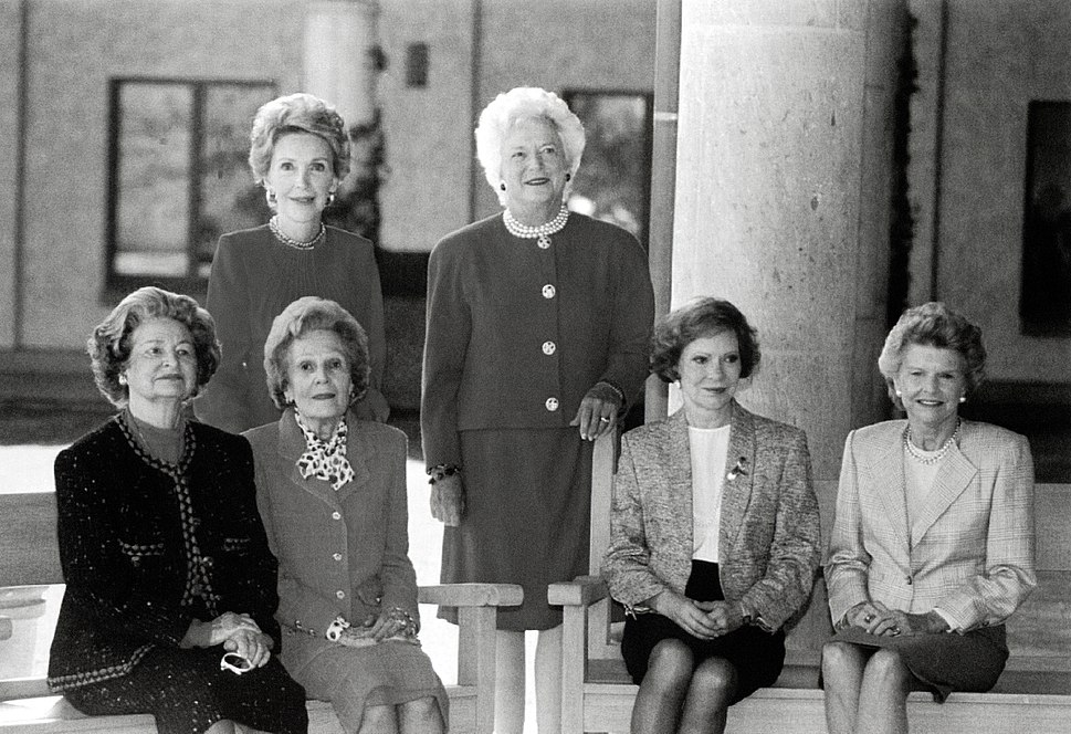 First Ladies at Ronald Reagan Presidential Library