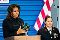 First lady Michelle Obama supports Toys for Tots annual drive 131219-N-WY366-869.jpg