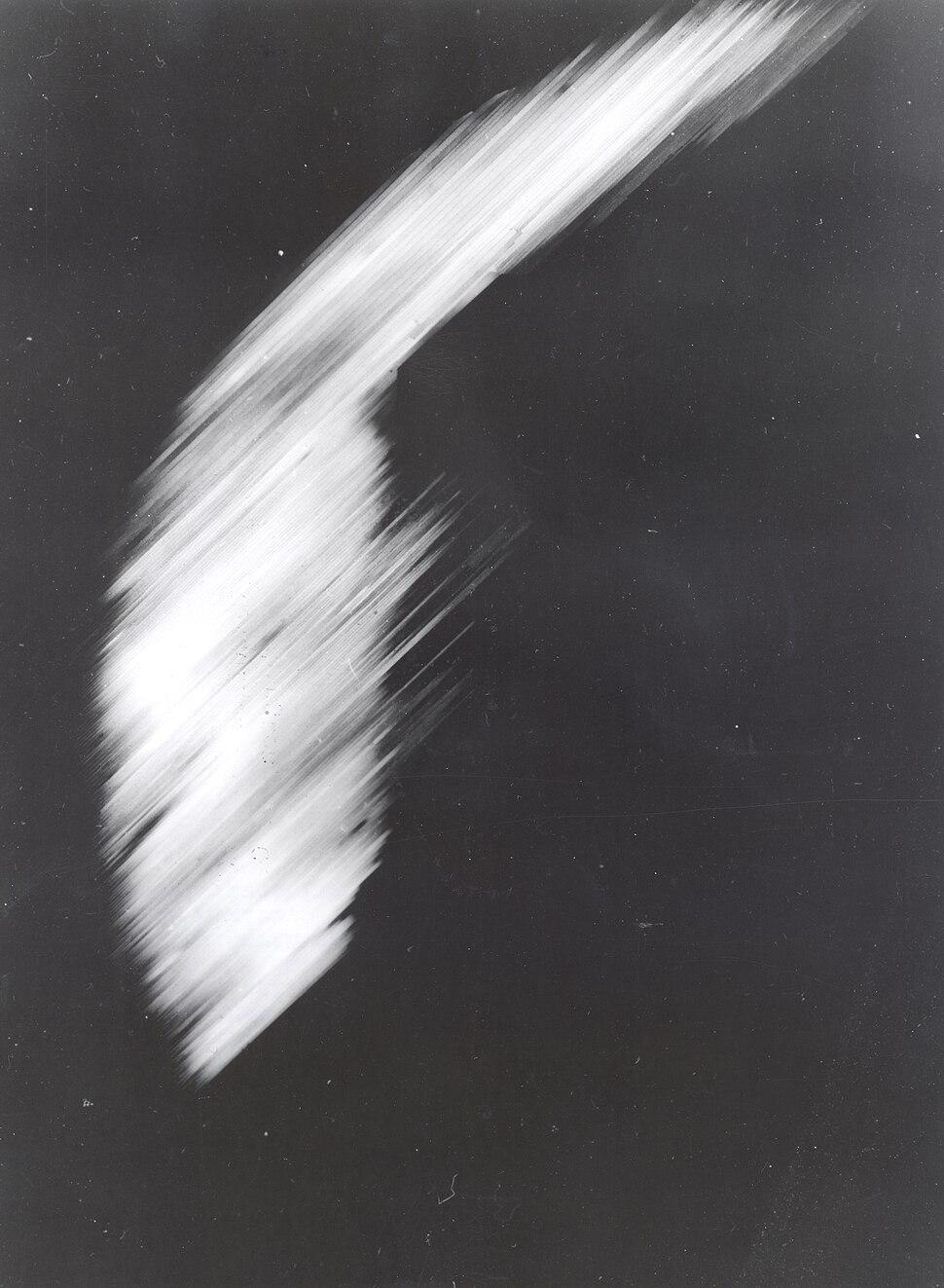 First satellite photo - Explorer VI