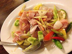 Kinilaw - Image: Fish kinilaw