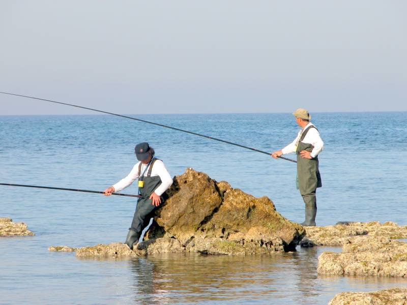 Fishing in israel