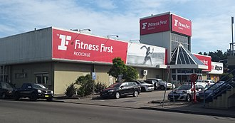 Fitness First - A Fitness First gym in suburban Sydney, Australia in 2016.