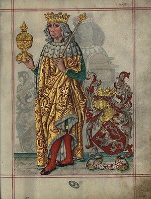 Vladislaus II of Hungary - Vladislaus, King of Bohemia