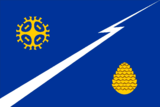 Flag of Izluchinsk (Khanty-Mansia).png