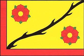 Lidice - Image: Flag of Lidice