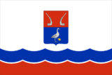 Flag of Priozersky rayon (Leningrad oblast) (2005).png