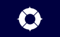 Flag of Toyonaka Osaka indigo blue version.png