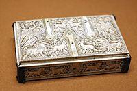 Flat casket Cuenca Louvre OA2775