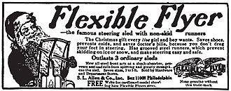 Flexible Flyer - Flexible Flyer ad from the early 1900s