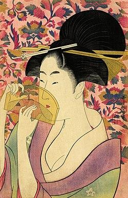 Flickr - …trialsanderrors - Utamaro, Kushi (Comb), ca. 1785.jpg