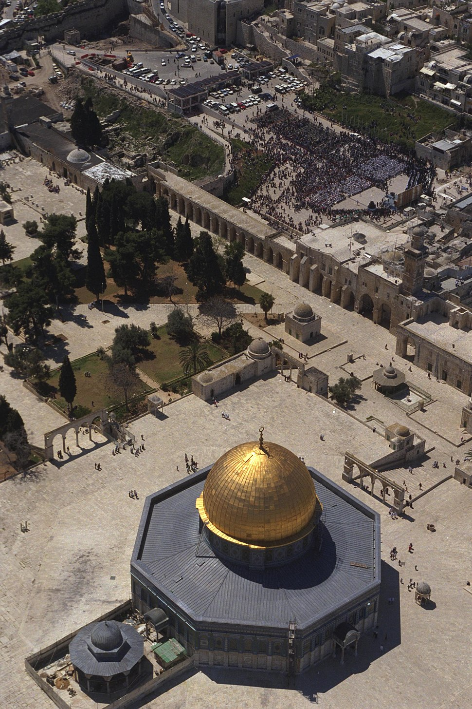 Flickr - Government Press Office (GPO) - Bird's-Eye View of the Temple Mount
