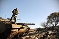 Flickr - Israel Defense Forces - Heading the Tank.jpg