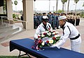 Flickr - Official U.S. Navy Imagery - Sailors lay wreath at 9-11 ceremony..jpg