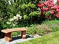 Flickr - brewbooks - Bench and Blacklist - John M's garden (1).jpg