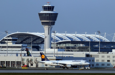 Munich International Airport (MUC) Flughafen turm.png