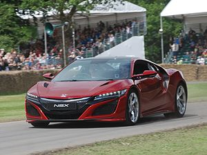 Honda NSX - 2016 Honda NSX at the 2016 Goodwood Festival of Speed