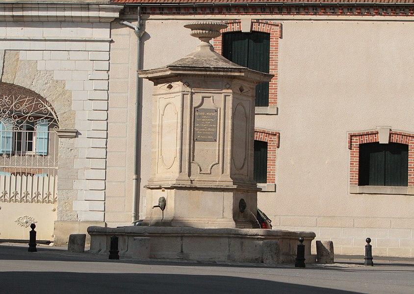 Fontaine d'Ambonnay, Place de la Fontaine (Inscrit, 2003)