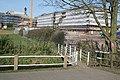 Footbridge at Tean Mills - geograph.org.uk - 396032.jpg