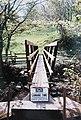 Footbridge over Arkle Beck, Langthwaite - geograph.org.uk - 419399.jpg