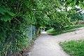 Footpath along the side of Tunbridge Wells Leisure Centre - geograph.org.uk - 1364234.jpg