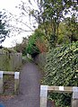 Footpath leaving Moorsley Road - geograph.org.uk - 1004010.jpg